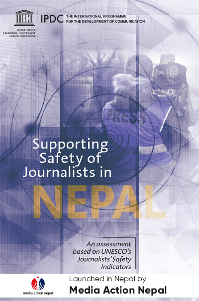 Supporting Safety of Journalists in NEPAL