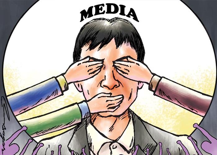 Muzzling the media: Threat to democracy